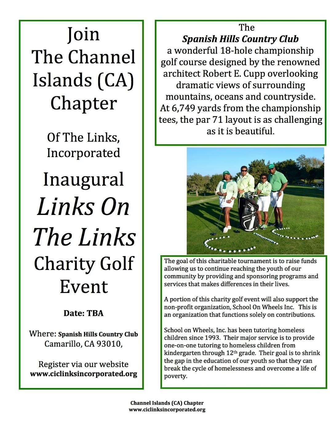 Links Golf Event Flyer 1