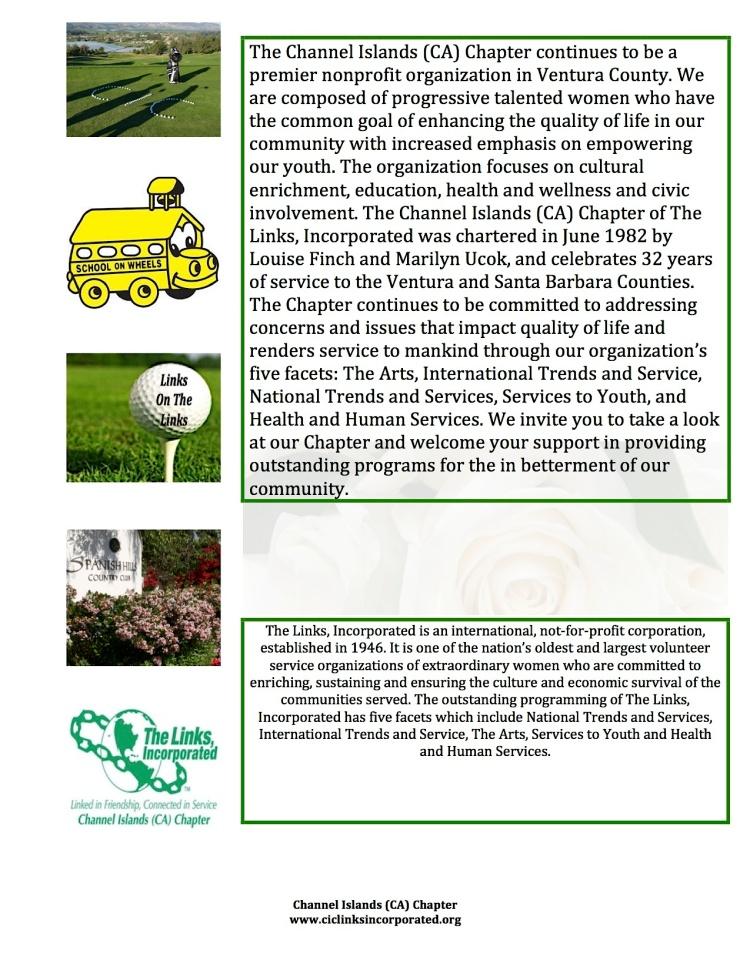 Links Golf Event Flyer